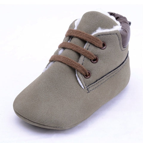 High Cut Winter Wool Sneakers - Present Baby | clothes, rompers, bibs, shoes, blankets, dresses & more
