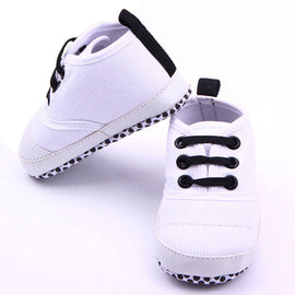 Casual Crown Baby Shoes - Present Baby | clothes, rompers, bibs, shoes, blankets, dresses & more