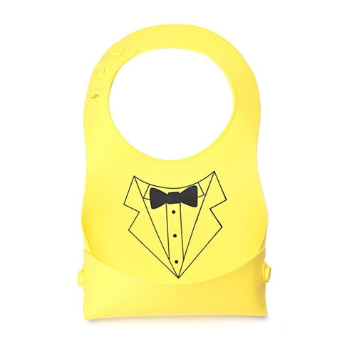 Lady & Gentleman Series Silicone Bib - Present Baby | clothes, rompers, bibs, shoes, blankets, dresses & more