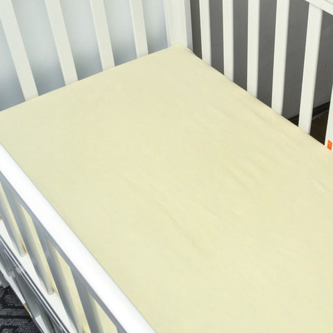Basic Yellow Bed Sheet - Present Baby | clothes, rompers, bibs, shoes, blankets, dresses & more