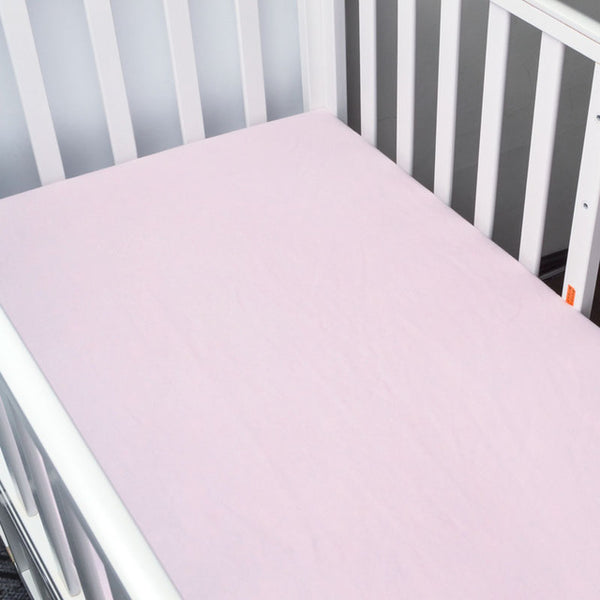 Basic Pink Bed Sheet - Present Baby | clothes, rompers, bibs, shoes, blankets, dresses & more