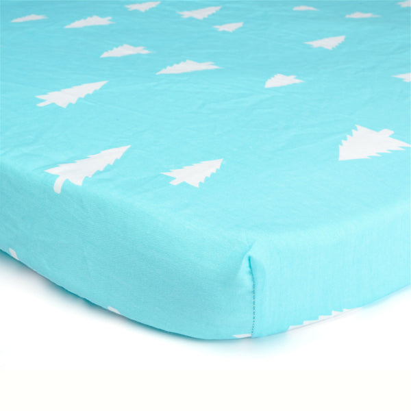 Pinecone Paradise Bed Sheet - Present Baby | clothes, rompers, bibs, shoes, blankets, dresses & more
