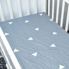 Geometrical Triangle Bed Sheet - Present Baby | clothes, rompers, bibs, shoes, blankets, dresses & more