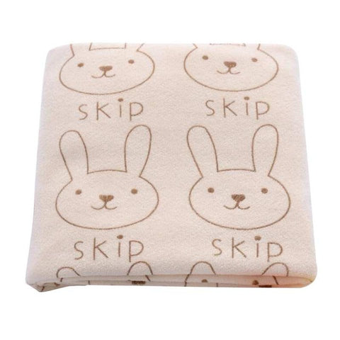 Bunny Skip Swaddle Blanket - Present Baby | clothes, rompers, bibs, shoes, blankets, dresses & more