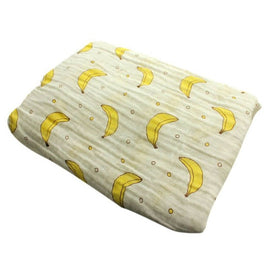 Gone Bananas Muslin Swaddle Blanket - Present Baby | clothes, rompers, bibs, shoes, blankets, dresses & more