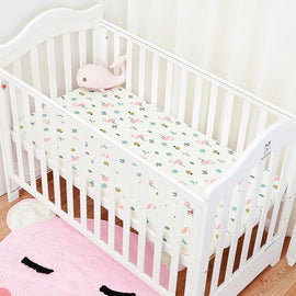 Pink Flamingo Bed Sheet - Present Baby | clothes, rompers, bibs, shoes, blankets, dresses & more