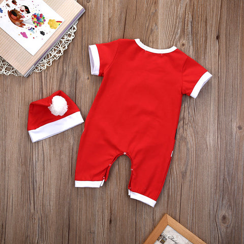 Baby Santa Romper - Present Baby | clothes, rompers, bibs, shoes, blankets, dresses & more