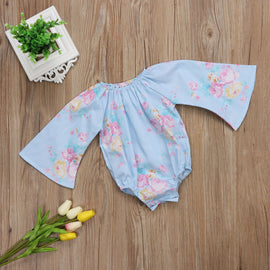 Angel Oceanic Flora Romper - Present Baby | clothes, rompers, bibs, shoes, blankets, dresses & more