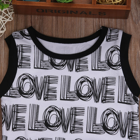 LOVE Romper - Present Baby | clothes, rompers, bibs, shoes, blankets, dresses & more