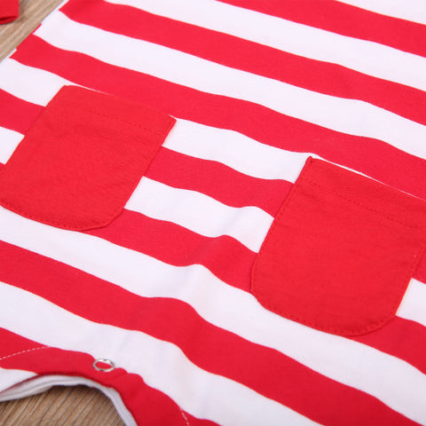 Candy Cane Romper - Present Baby | clothes, rompers, bibs, shoes, blankets, dresses & more