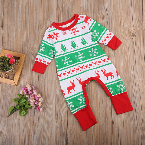 Christmas Wonderland Romper - Present Baby | clothes, rompers, bibs, shoes, blankets, dresses & more