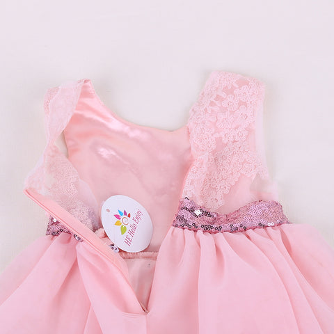 Fairytale Sequin Bowknot Dress - Present Baby | clothes, rompers, bibs, shoes, blankets, dresses & more