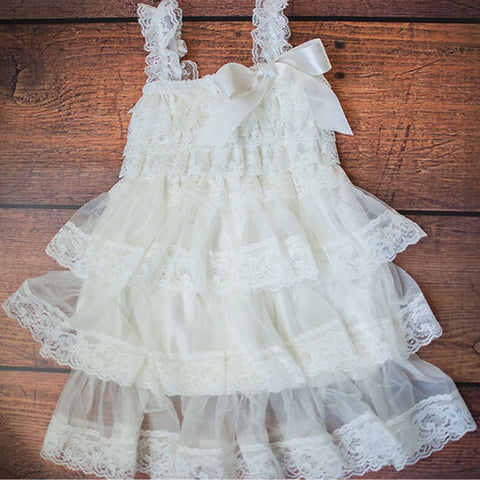 Flora Flower Chiffon Tulle Dress - Present Baby | clothes, rompers, bibs, shoes, blankets, dresses & more