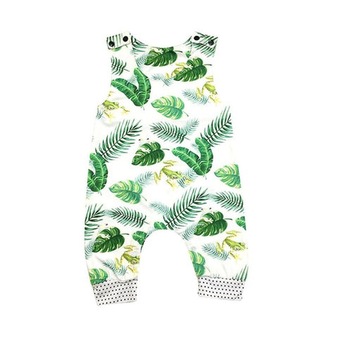 Amazonian Ferns Romper - Present Baby | clothes, rompers, bibs, shoes, blankets, dresses & more