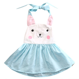 Bunny Tie Tank Dress - Present Baby | clothes, rompers, bibs, shoes, blankets, dresses & more