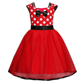 Polka Dot Minnie Bow Tulle Tutu Dress - Present Baby | clothes, rompers, bibs, shoes, blankets, dresses & more