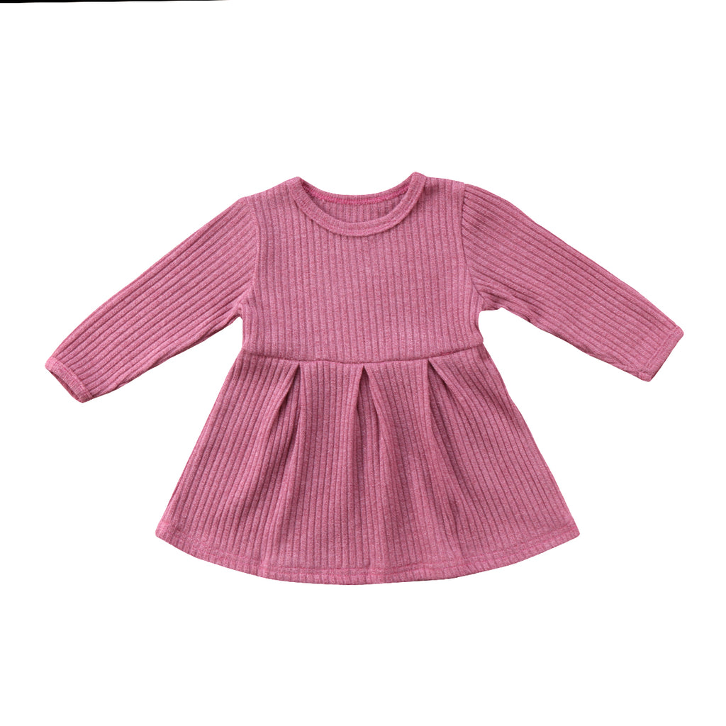 Snuggle Sleeve Knit Dress - Present Baby | clothes, rompers, bibs, shoes, blankets, dresses & more