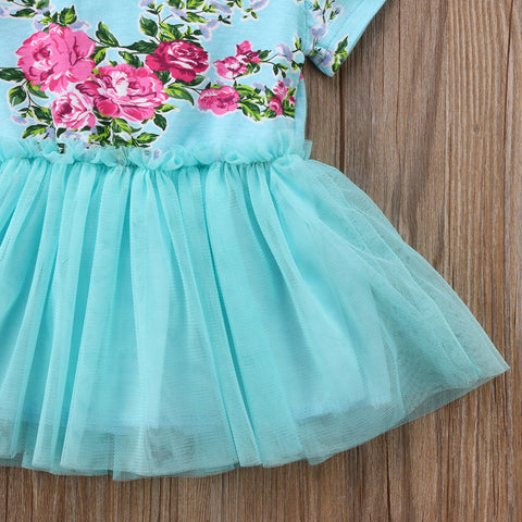 Floral Queen Tulle Dress - Present Baby | clothes, rompers, bibs, shoes, blankets, dresses & more