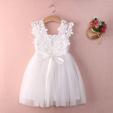 Floral Lace Tulle Dress - Present Baby | clothes, rompers, bibs, shoes, blankets, dresses & more