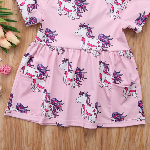 Unicorn Heaven Dress - Present Baby | clothes, rompers, bibs, shoes, blankets, dresses & more