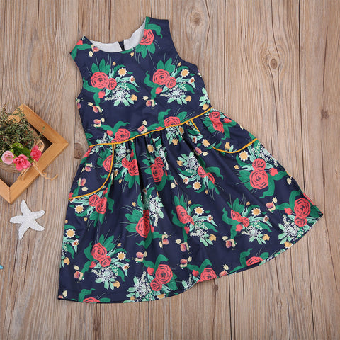 Rose Garden Floral Dress - Present Baby | clothes, rompers, bibs, shoes, blankets, dresses & more