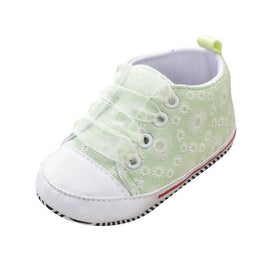 White Soft Soled Marguerite Shoes - Present Baby | clothes, rompers, bibs, shoes, blankets, dresses & more