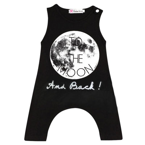 To The Moon and Back Fashion Romper - Baby, Toddler & Infant Clothing - Romper Baby