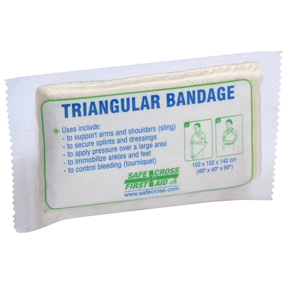 Compressed Triangular Bandage