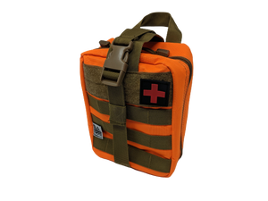 Survival Molle Pouch- Orange