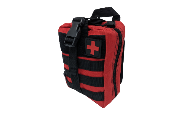 First Aid Molle Pouch-Red