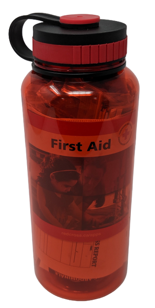 Water Bottle First Aid Kit