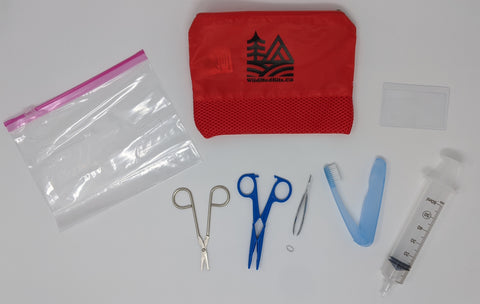 Wilderness Wound Cleaning Training Kit