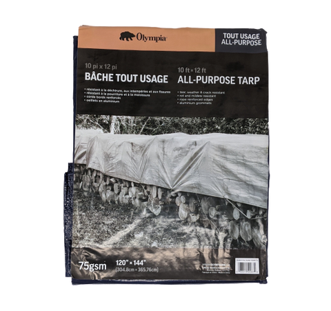 All Purpose Tarp 10' x 12'
