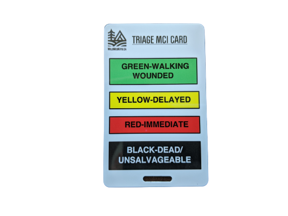Triage/MCI Reference Card
