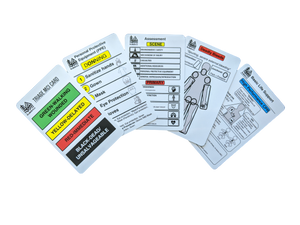 First Responder Quick Reference Cards