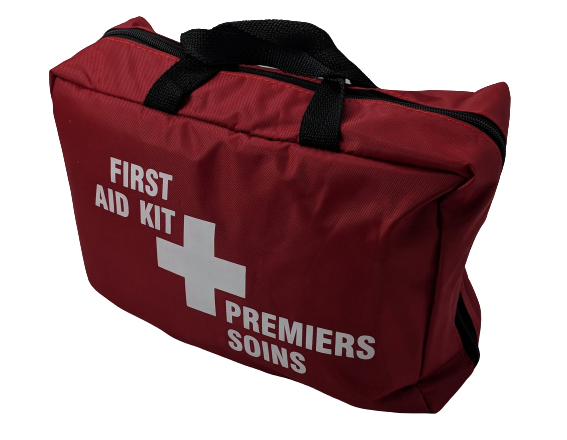 Large Organized Roll-out First Aid Bag