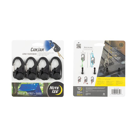 CamJam® Cord Tightener: 4 Pack