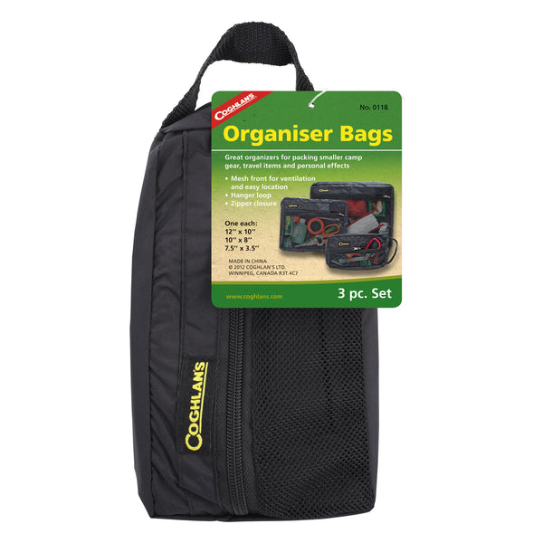 Organizer zippered Bags (Set of 3)