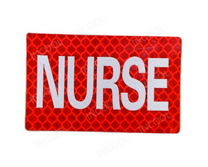 Nurse Reflective Velcro Patch