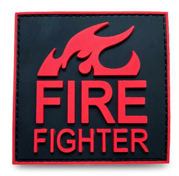 Fire Fighter Velcro Patch
