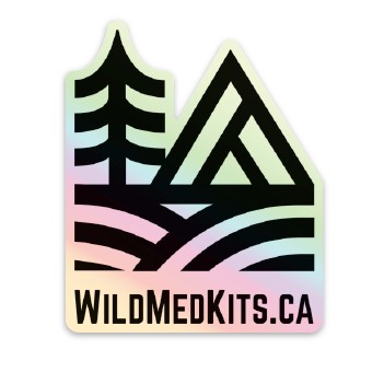 Wildmedkits Holographic Sticker