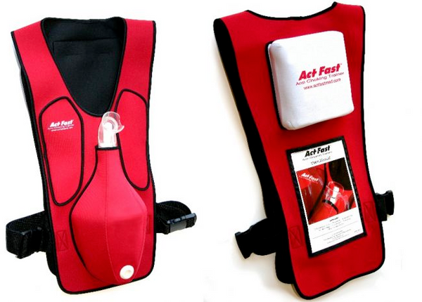 Act Fast Anti Choking Trainer, RED