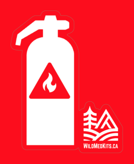 Fire Extinguisher Sticker