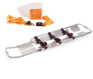 Scoop Stretcher: Ferno Model 65 With 3 Additional Straps