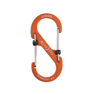 S-Biner® SlideLock® Aluminum: Orange #4