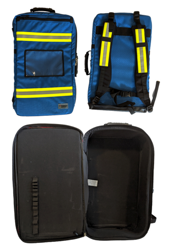 Blue First Responder Backpack: MADE IN CANADA