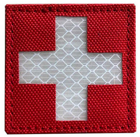 Reflective Medical Velcro Patch