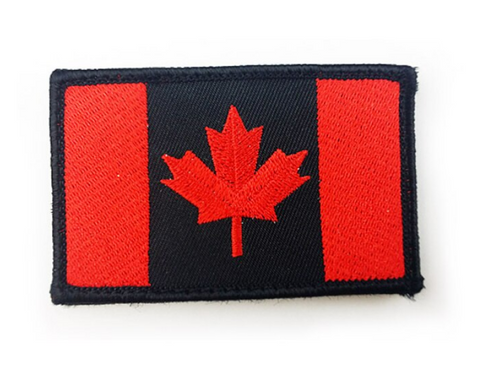 Tactical Canada Flag Velcro Patch