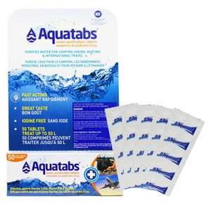 Aquatabs Water Purification Tablets (50 Pk)