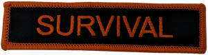 Survival Velcro Patch